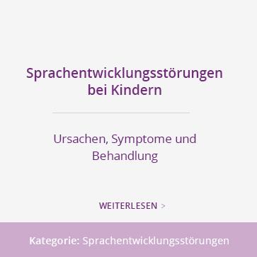 Sprachentwicklungsstörungen bei Kindern können durch eine Sprachtherapie in einer Praxis für Logopädie gezielt behandelt werden